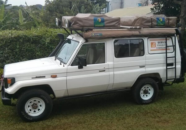 Land Cruiser Double Rooftent